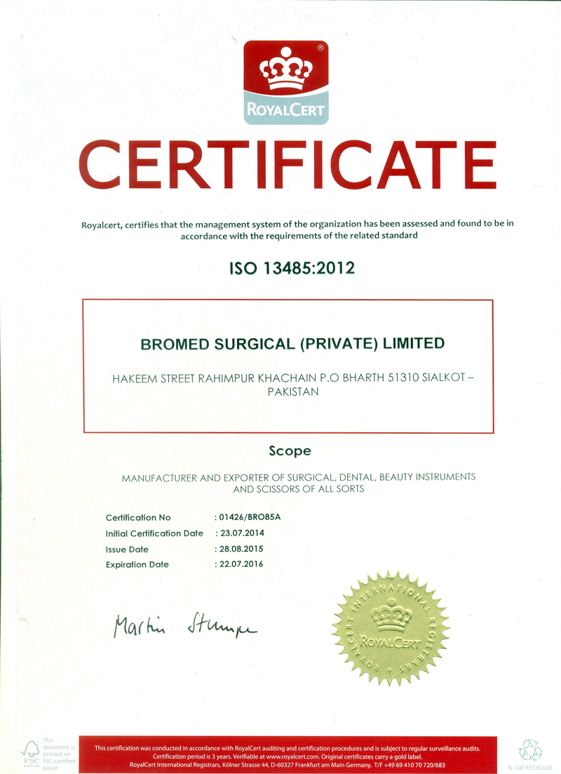 BROMED SURGICAL PRIVATE LIMITED